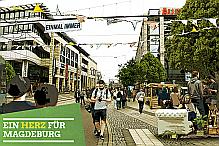 Ein Herz für Magdeburg - Neue Maßnahmen für eine belebte, attraktive Innenstadt